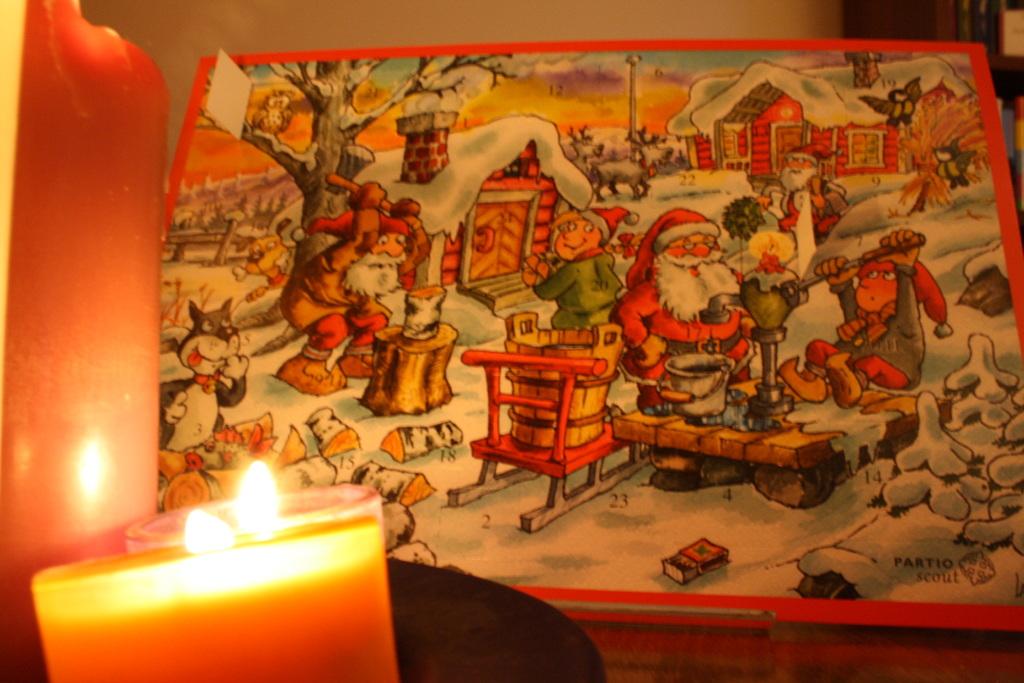 Kestävän joulun joulukalenteri: Kynttilät ja mehiläiset