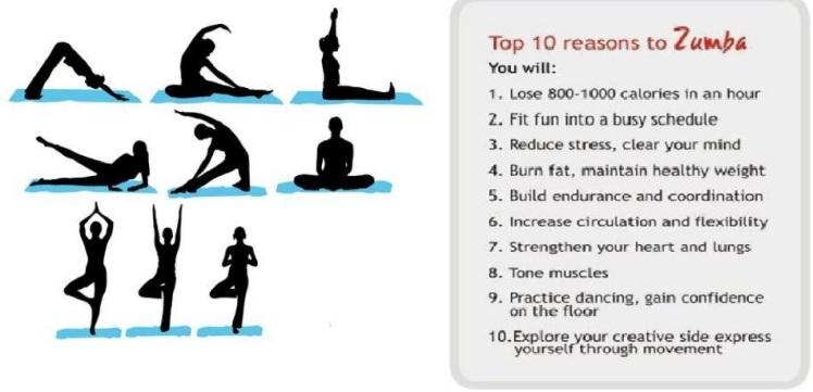 Yoga or Zumba