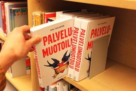 Kuva1 - Etsi painettu kirja, josta kirjasto on hankkinut myös e-version