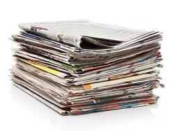 Paperimedian kuolemasta puhutaan.
