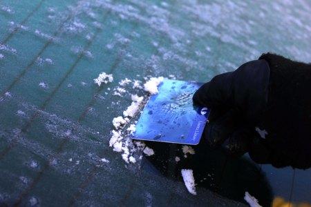 Kirjastokortti jääraappana