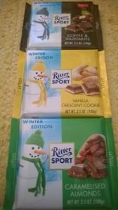 Ritter Sportin värikäs talviuutuustrio.