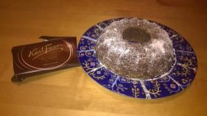 Isänpäivän suklaakakku. Joulupöytään?