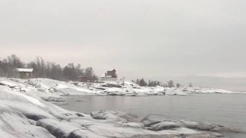 Södra Trutklippan talvella