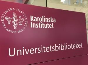 Karolinska Instututet, Universitetsbibliotek. Tukholma